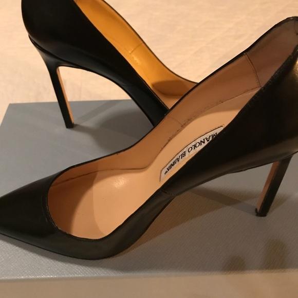9f619ec11cda Manolo Blahnik BB 105 leather pump. Black 39. M 5a8630a82ab8c5f843c8f552